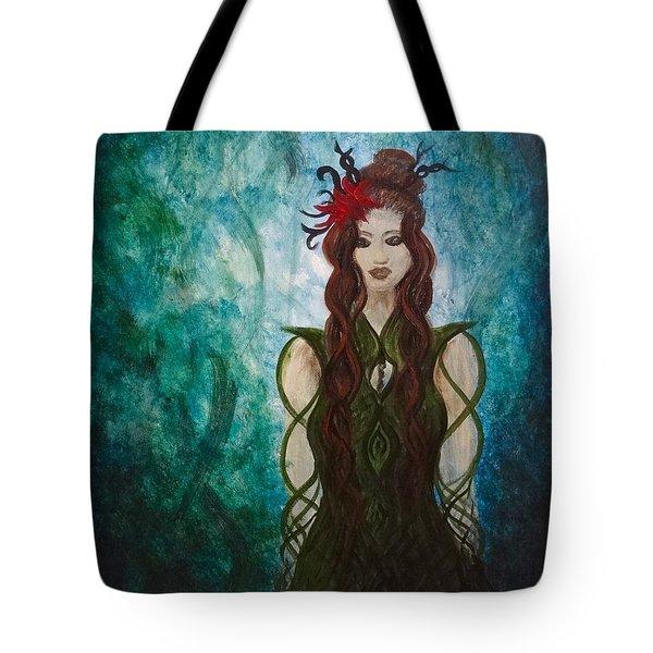 Infinity Goddess Tote Bag