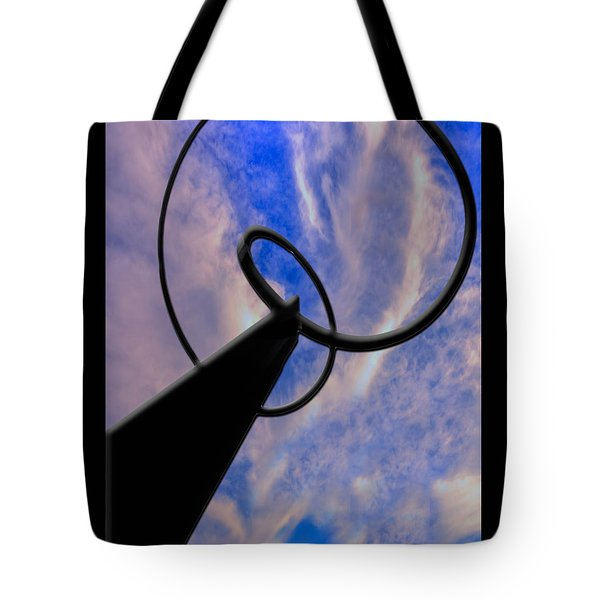 Tote Bag featuring the photograph Infinity by Paul Wear