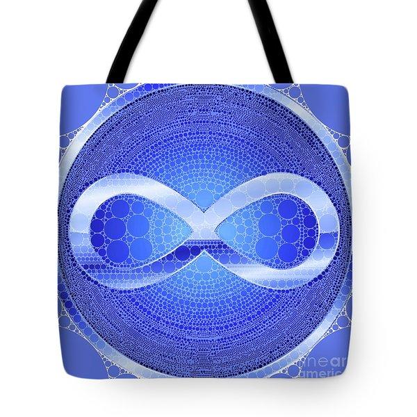 Infinity, Pop Art By Mb Tote Bag