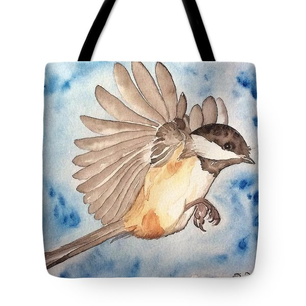 Inflight - Cropped Tote Bag