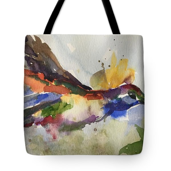 Inflight Tote Bag