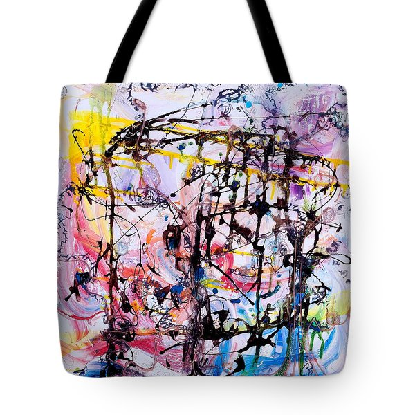 Information Network Tote Bag by Regina Valluzzi