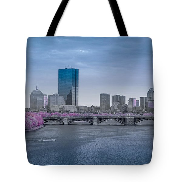 Infrared Boston Tote Bag