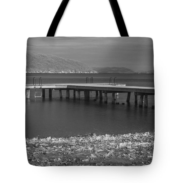 Infrared Dock Keuka Lake Tote Bag by Joshua House