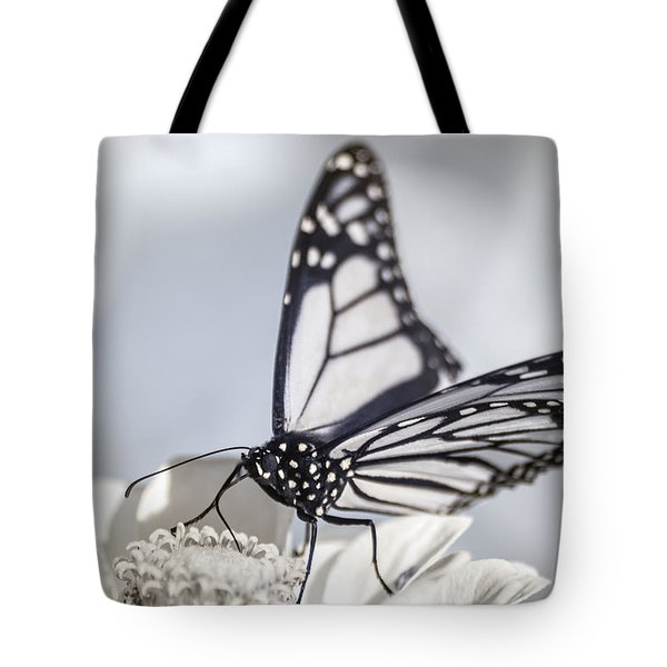 Tote Bag featuring the photograph Infrared Monarch 2 by Brian Hale
