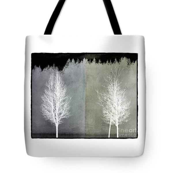 Infrared Trees With Texture Tote Bag by Patricia Strand