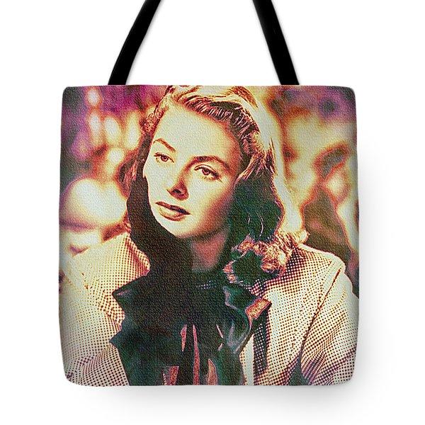 Ingrid Bergman - Movie Legend Tote Bag