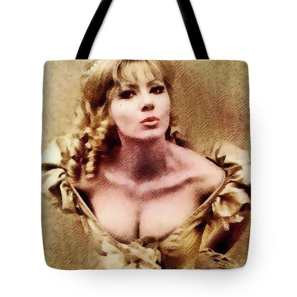 Ingrid Pitt, Vintage Actress Tote Bag
