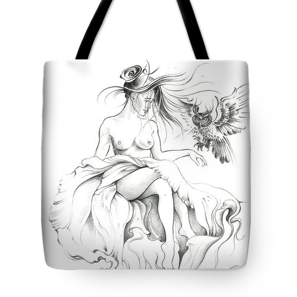 Inhabitants Of The Sky Realm Tote Bag