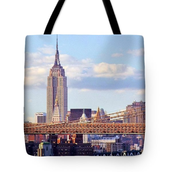 Inhabited Sculpture Tote Bag by Mitch Cat