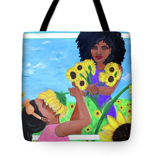 Inhale Happiness Tote Bag