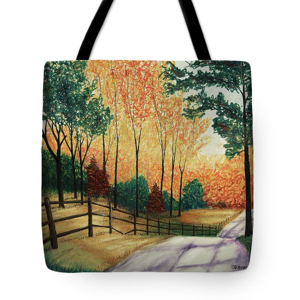 Inhaling Color Tote Bag