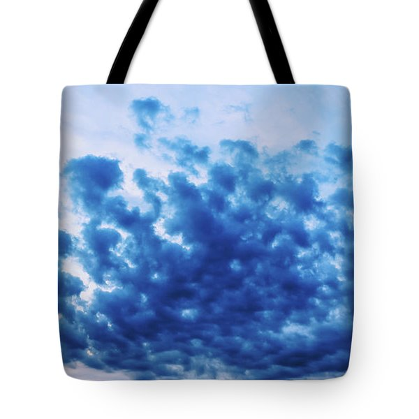 Tote Bag featuring the photograph Ink Blot Sky by Colleen Kammerer
