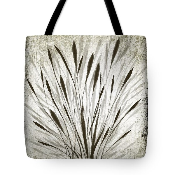 Tote Bag featuring the drawing Ink Grass by Ivana Westin