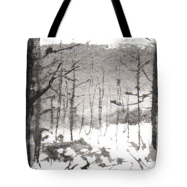 Ink Landscape 1 Tote Bag