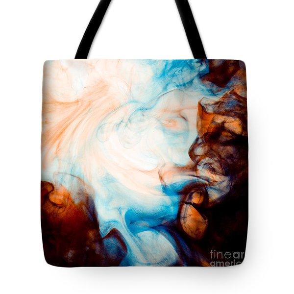 Ink Swirls 001 Tote Bag