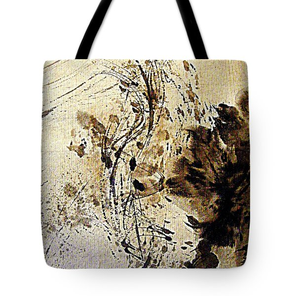 Ink Takes A Dance Tote Bag