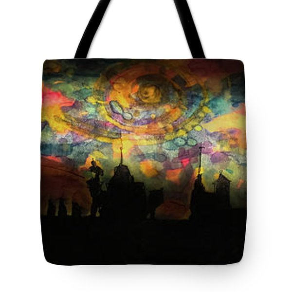 Inky Inky Night II Tote Bag