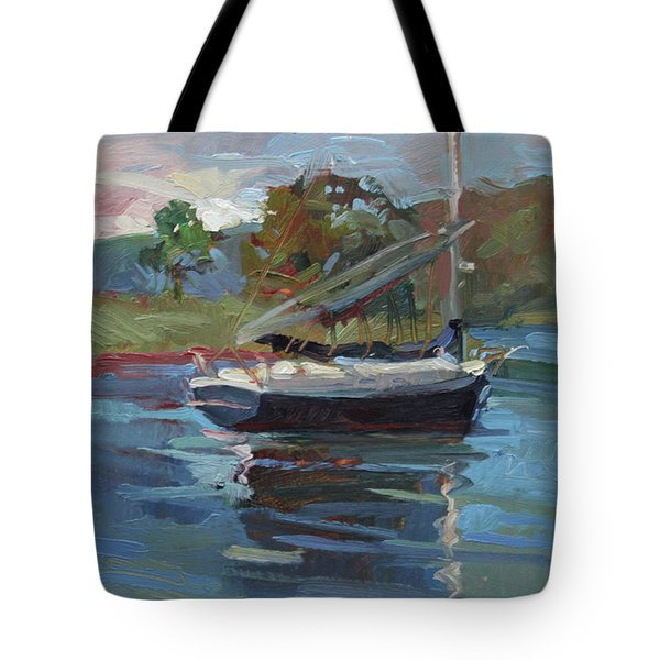 Inland Bay - Catalina Island Tote Bag