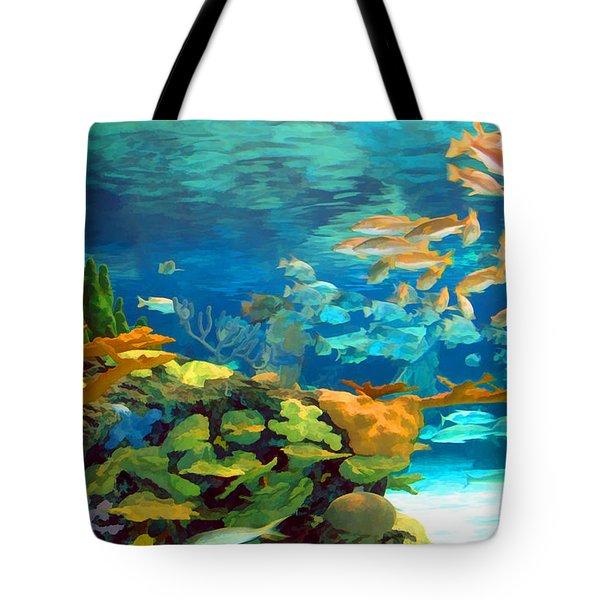 Inland Reef Tote Bag