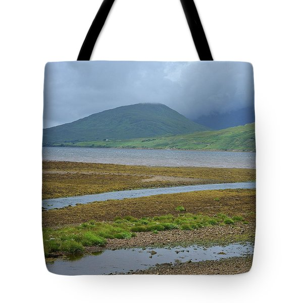 Inland Shores Of Aasleagh Tote Bag