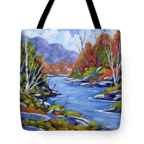Inland Water Tote Bag by Richard T Pranke