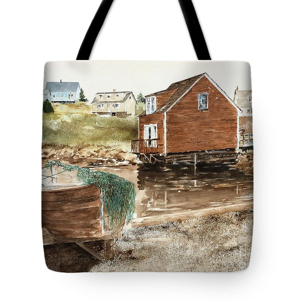 Inlet At Peggy's Cove Tote Bag
