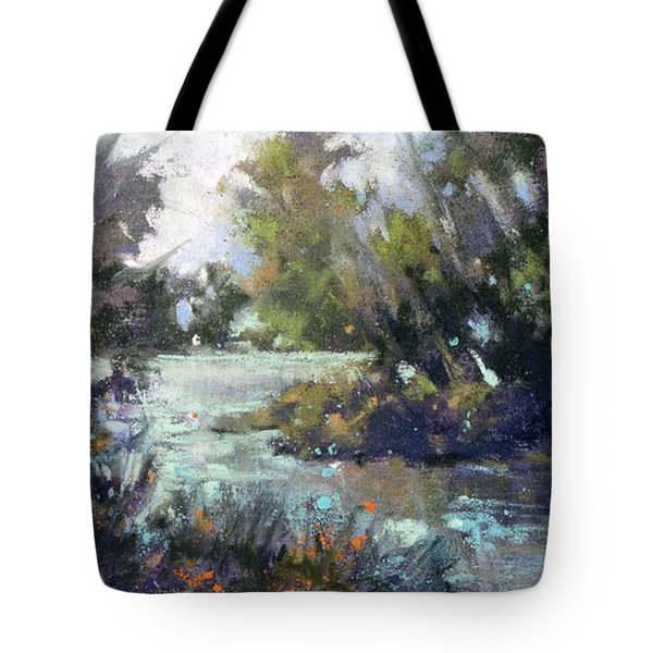 Inlet Haven Tote Bag by Rae Andrews