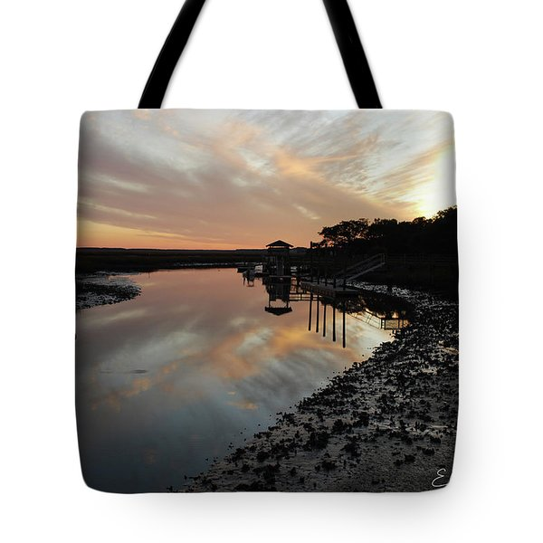 Inlet Sunset Tote Bag