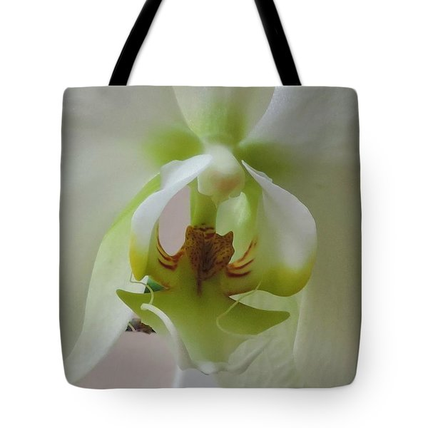 Tote Bag featuring the photograph Inner Beauty by Peggy Stokes