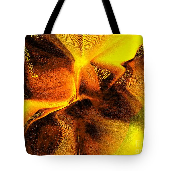 Tote Bag featuring the digital art Inner Changes by Yul Olaivar