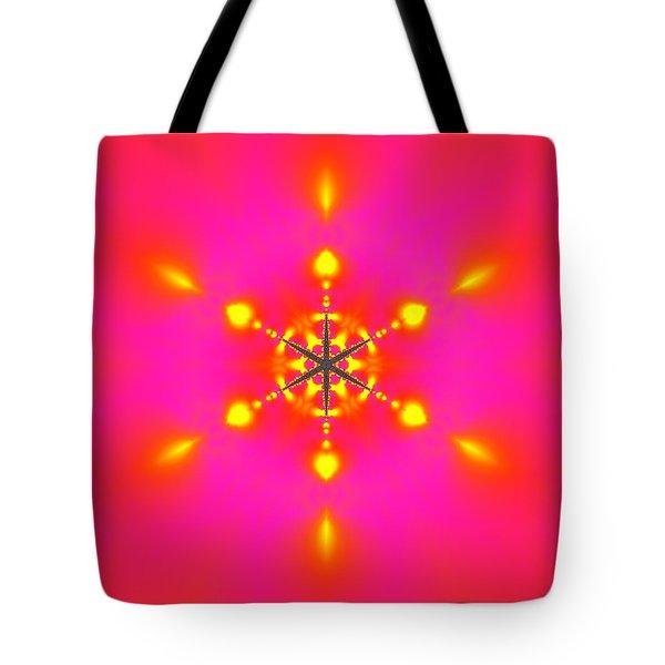 Tote Bag featuring the digital art Inner Comet 3 by Robert Thalmeier
