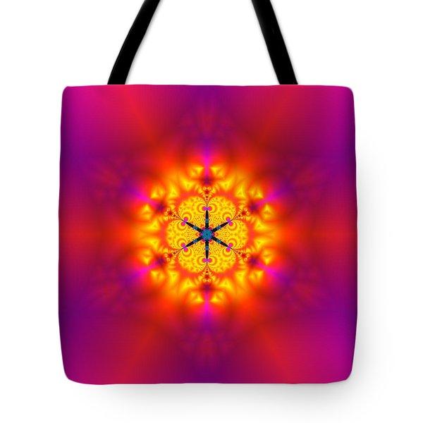 Tote Bag featuring the digital art Inner Comet by Robert Thalmeier