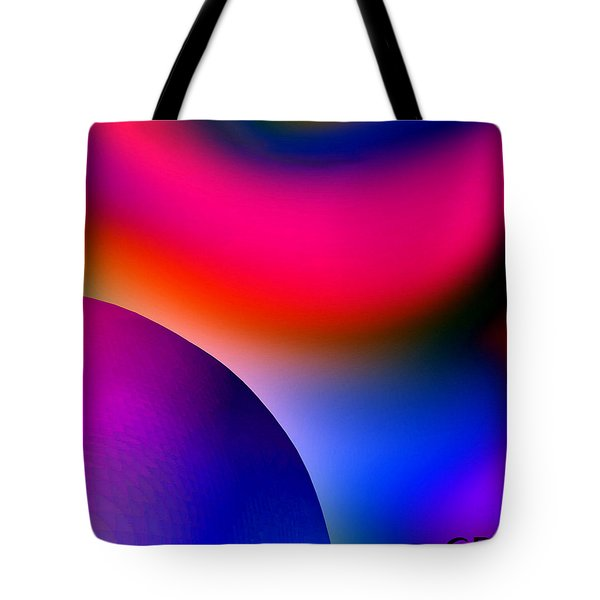 Inner Cosmos 2 Red I Diptych Right  Contemporary Digital Art Tote Bag