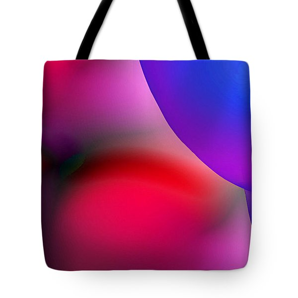 Inner Cosmos 2 Red II  Contemporary Digital Art Tote Bag