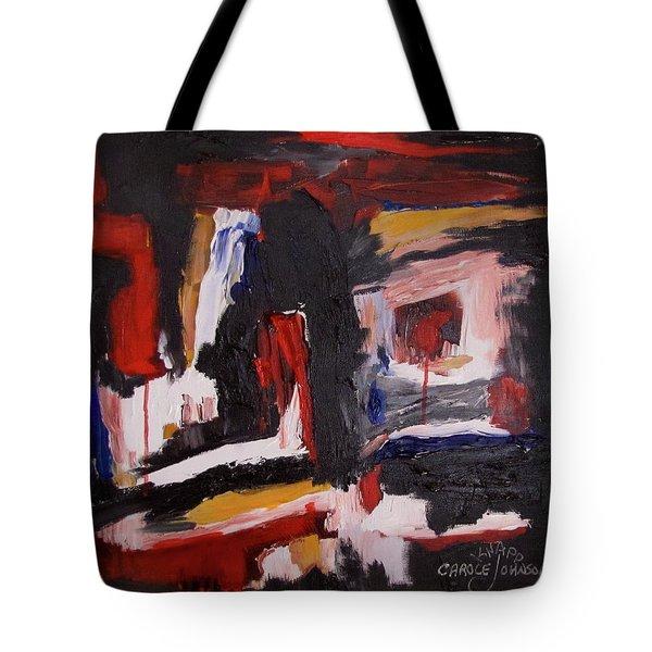 Inner Earth Tote Bag