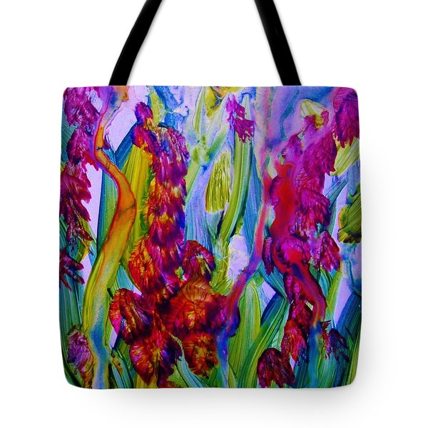 Inner Earth Garden Tote Bag