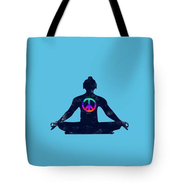 Inner Peace Tote Bag by Keshava Shukla