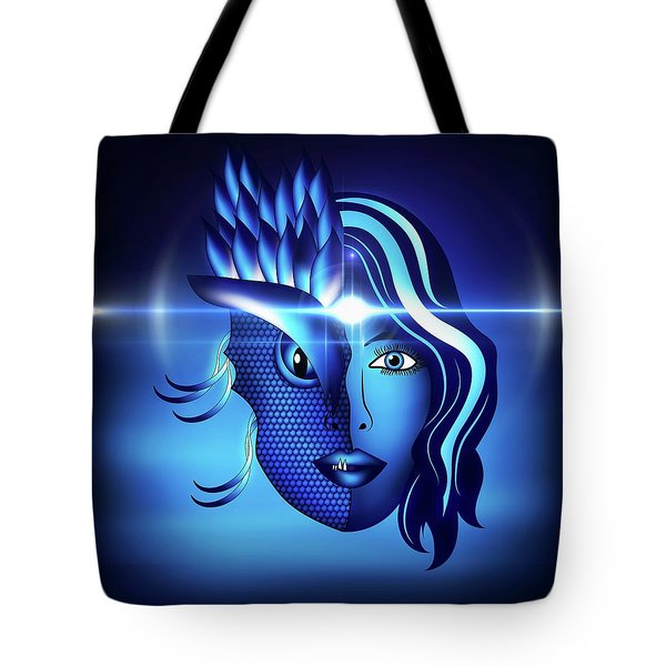 Inner Quest Tote Bag by Serena King
