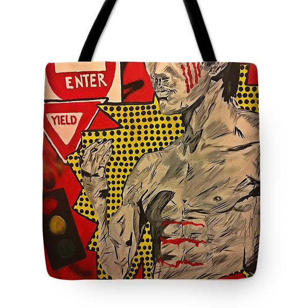 Inner Warrior  Tote Bag by Miriam Moran
