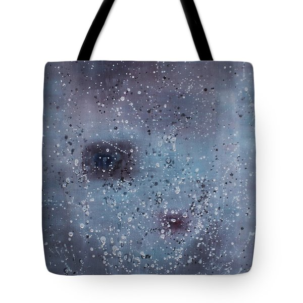 Tote Bag featuring the painting Inner World... by Min Zou
