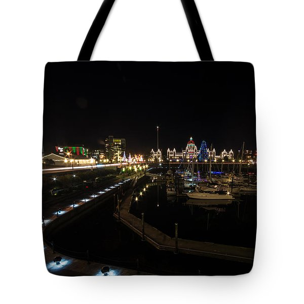 Inner Harbour Of Victoria Bc Tote Bag