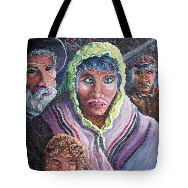 Innocence, Hope, Fear And Courage Tote Bag