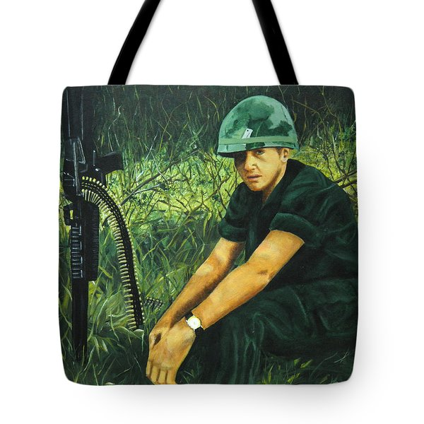 Innocence Lost  Tote Bag by Terry Honstead