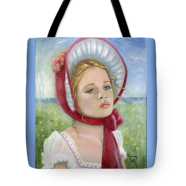 Tote Bag featuring the painting Innocence by Terry Webb Harshman