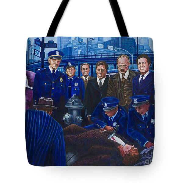 Innocent Bystanders Tote Bag by Michael Frank