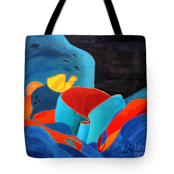 Inorganic Incandescence Tote Bag