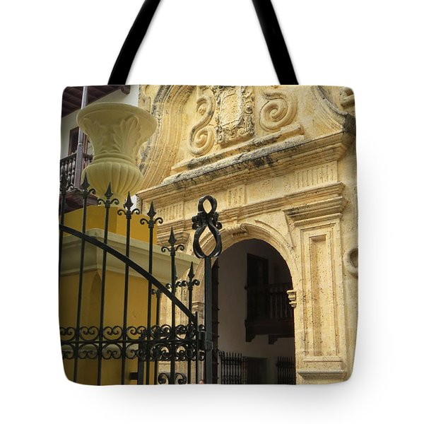 Inquisition Palace Tote Bag