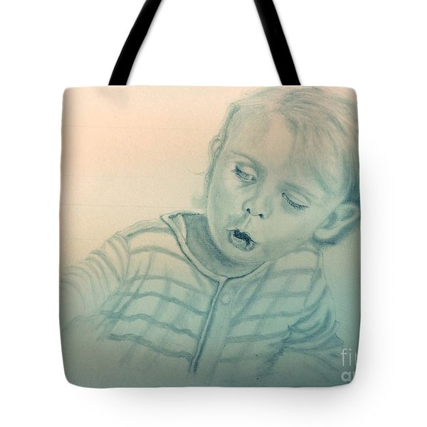 Inquisitive Child Tote Bag