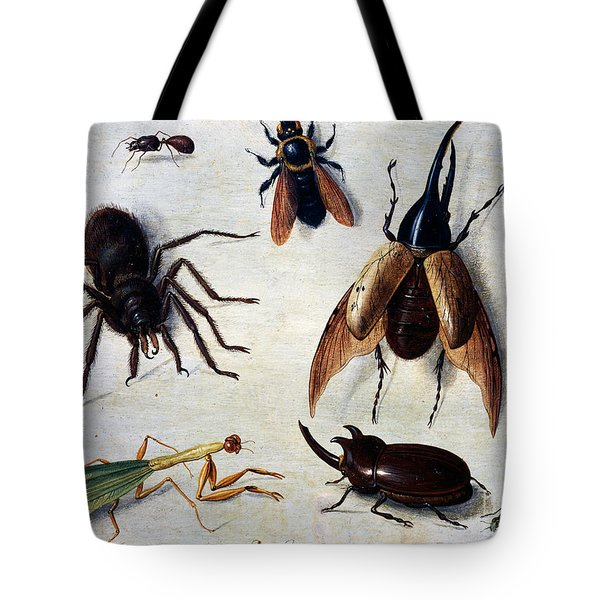 Insects, 1660 Tote Bag